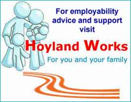Hoyland works 4 U website link about local opportunties and job market.