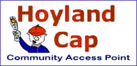 Hoyland community access point web site link